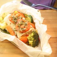 How to Cook Fish in Parchment – Mahi Mahi with Vegetables & Garlic-Chive Butter