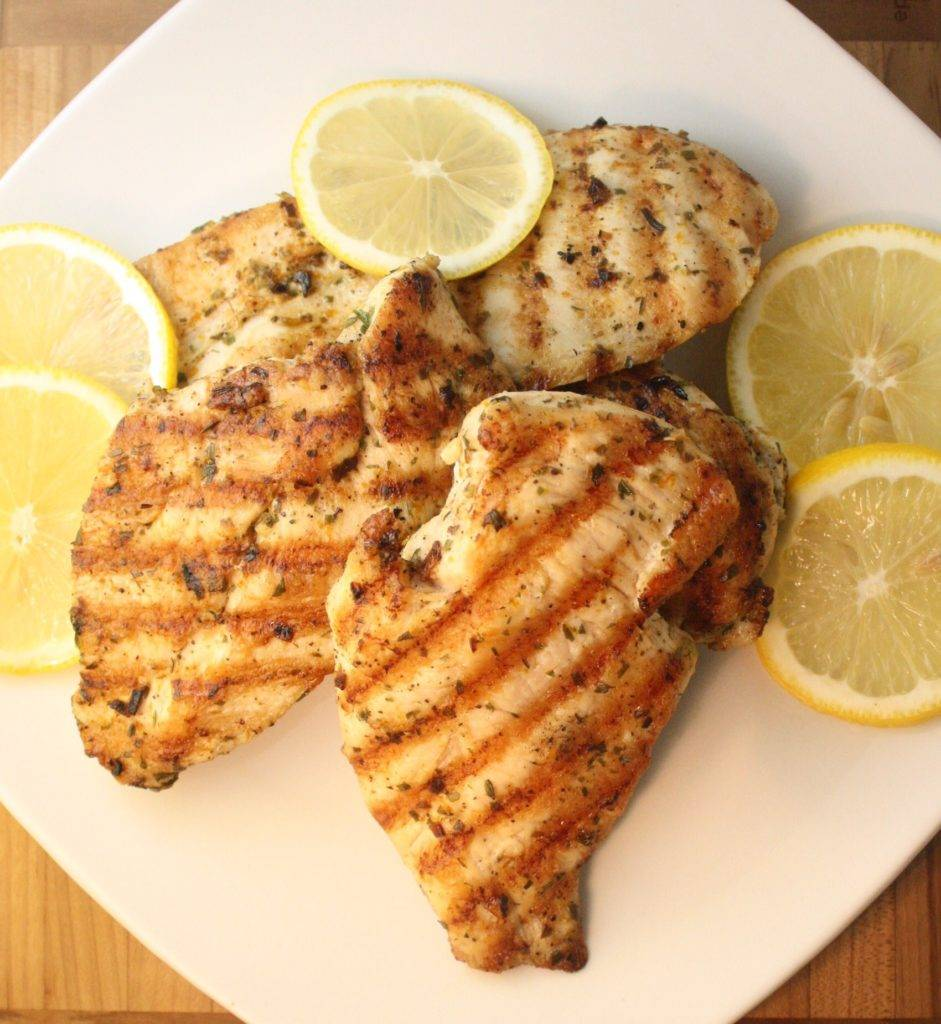 4th of July Recipe - Grilled Chicken Breasts