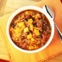 Heart Healthy Chili – I ❤️ Sweet Potato Black Bean Chili