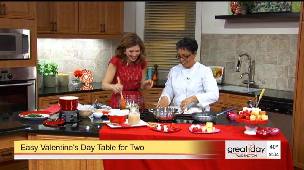 Chef Danielle on Great Day Washington