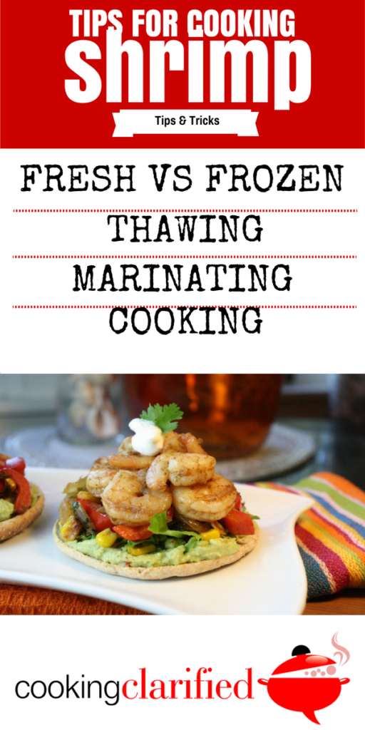 Get all the tips you need for cooking shrimp PLUS a fantastic recipe for Southwestern Shrimp Stacks.