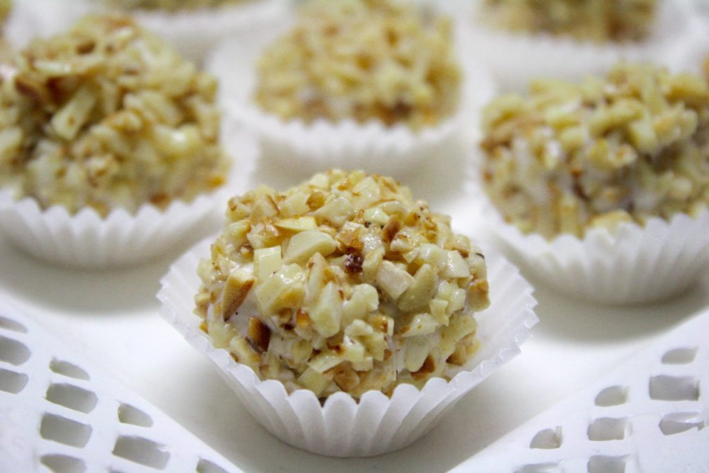 4th of July Recipe - Ice cream truffles