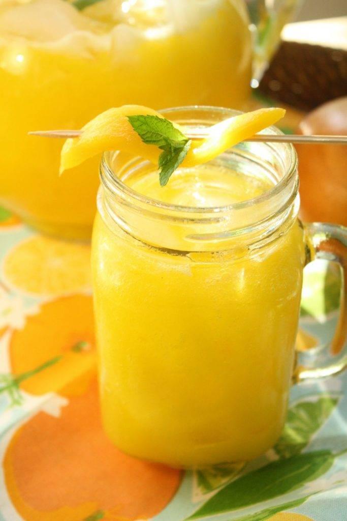 Mango Ginger Lemonade