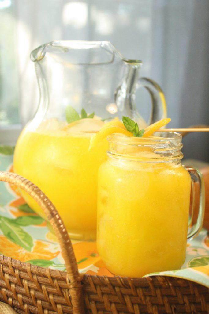 Mango 101 – Mango Ginger Lemonade