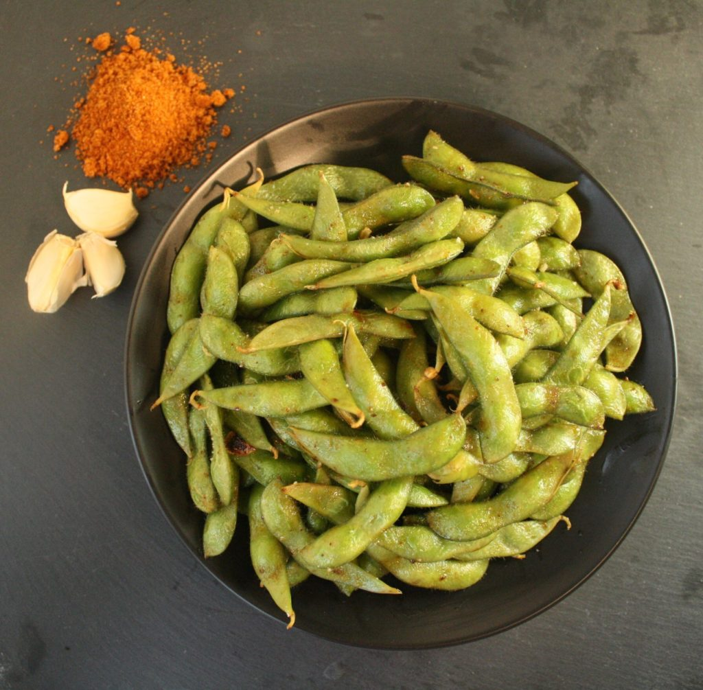 How to Cook Edamame | Chipotle Lime Edamame