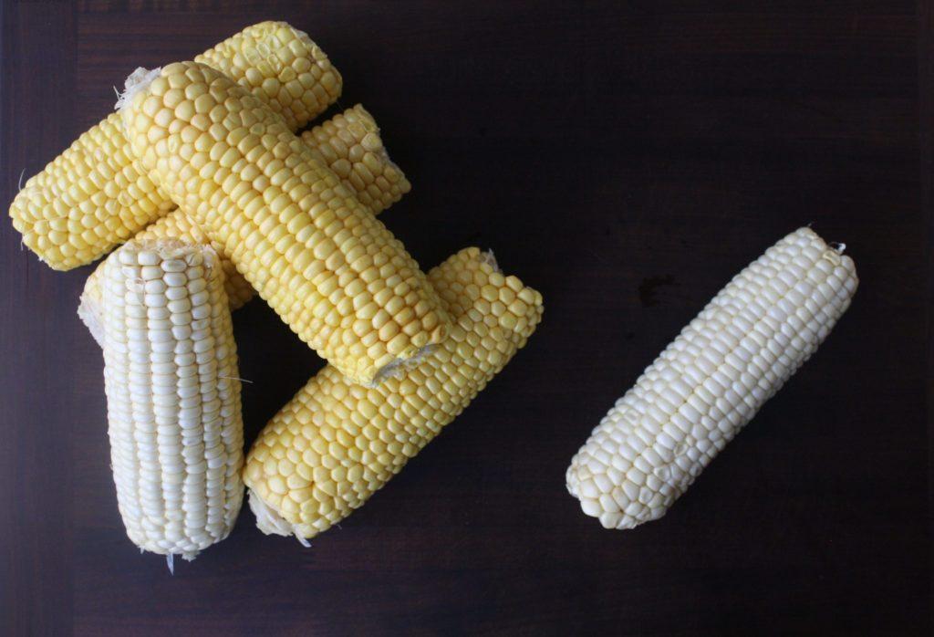 Cut corn kernels