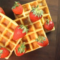How to Make Crisp Waffles From Scratch