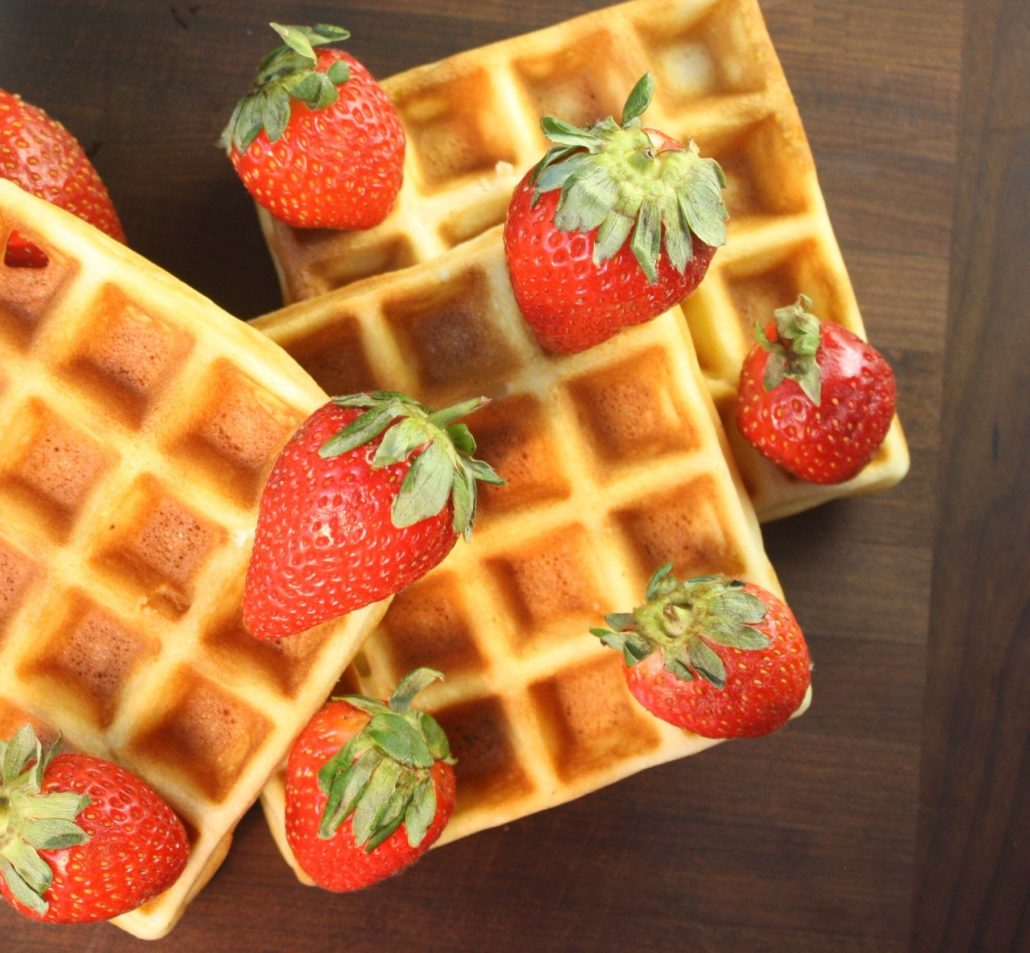Light & Crisp Waffles