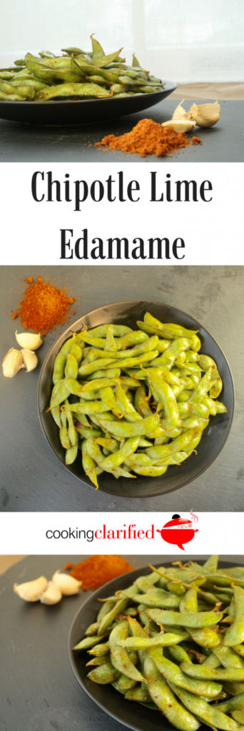 Learn how easy it is to cook edamame and get a super fast and delicious recipe for Chipotle Lime Edamame. It's the perfect recipe for your next gathering.