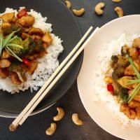 Stir-Fry Tips & Cashew Chicken