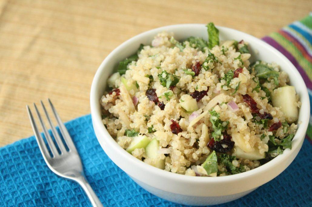 Quinoa, Kale & Apple Salad