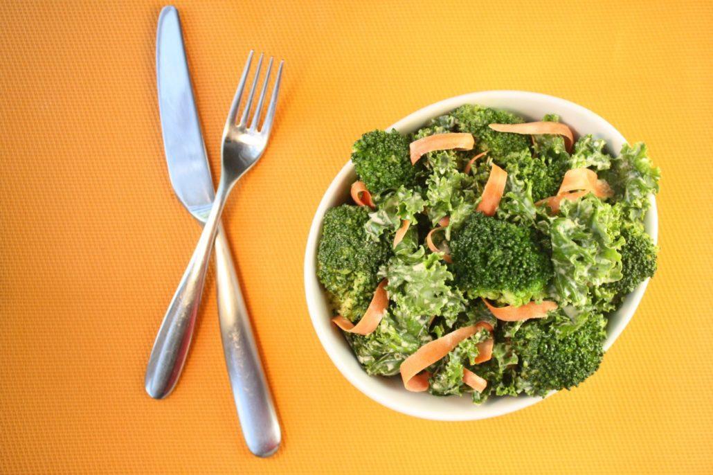 Kale, Broccoli & Carrot Salad