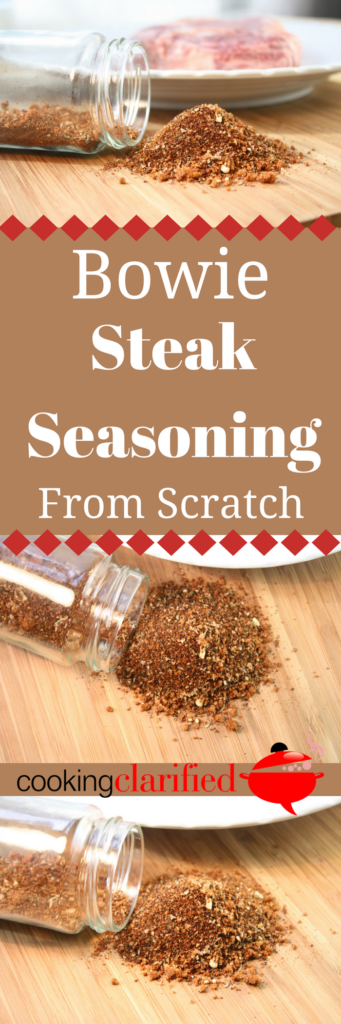 Steak seasoning from scrstch