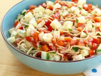 Veggie Spaghetti Salad