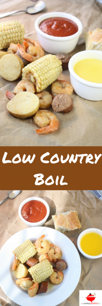 A Low Country Boil is more of an event than just a dish. It takes just minutes to prepare but it gives the appearance that you've worked all day to create a special treat for your guests. Serve up a Low Country Boil and take the credit!