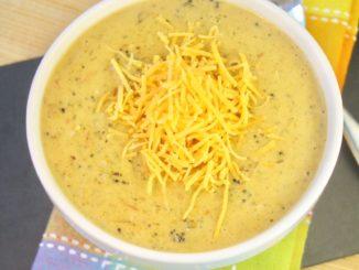 How to Make Pureed Soups   Broccoli Cheddar Potsto Soup