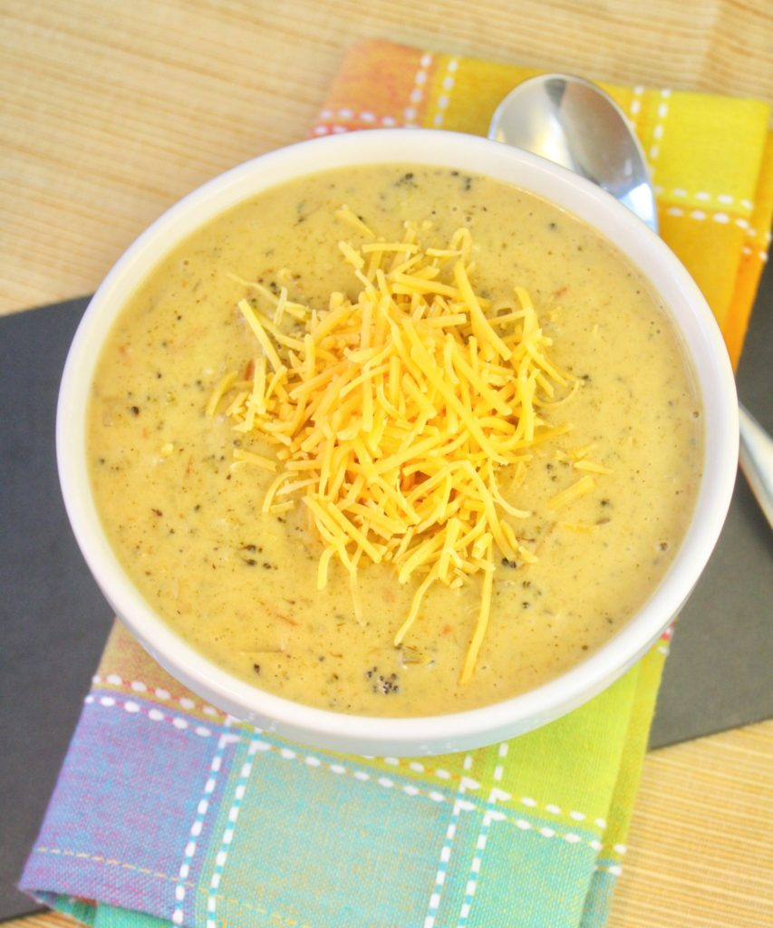 Broccoli, Cheddar & Potato Soup