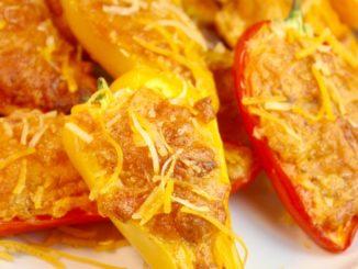 How to Stuff Mini Peppers   Creamy Chorizo-Stuffed Peppers
