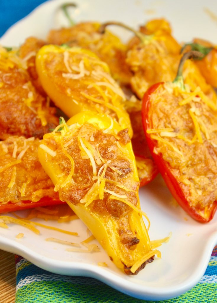 How to Stuff Mini Peppers | Creamy Chorizo-Stuffed Peppers