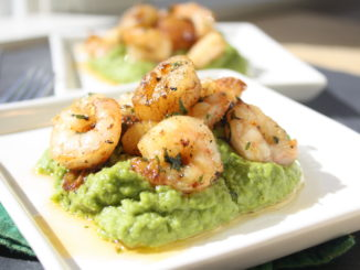 How to Make Pea Puree | Scallops & Shrimp with Pea Puree
