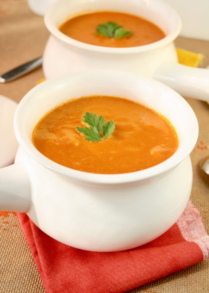Bisque vs Chowder   Creamy Tomato Bisque