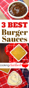 Grilling Game Changers - Three Best Burger Sauces