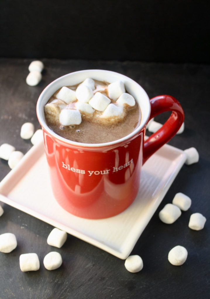 Coconut Kahlua Hot Cocoa