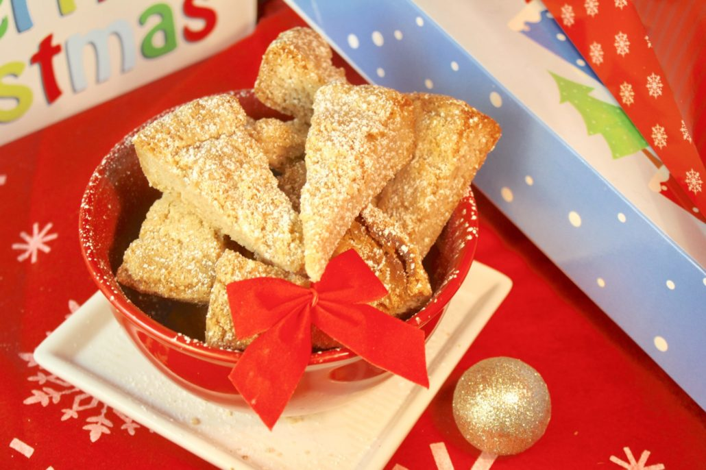 Eggnog Spiced Shortbread