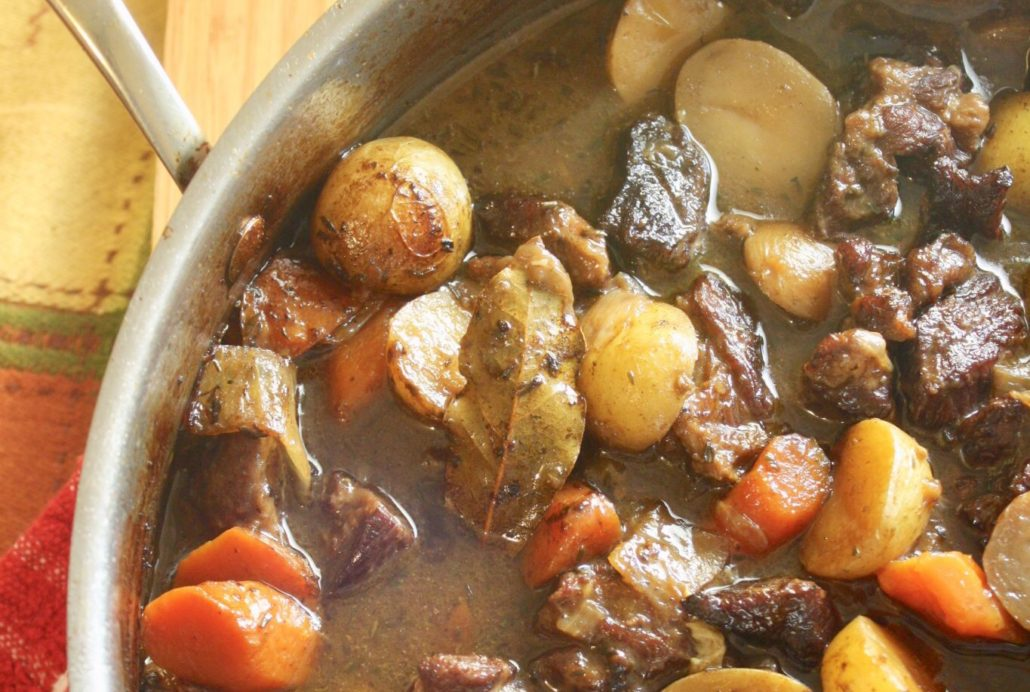 Winter Weather in Spring = Beef Stew 101