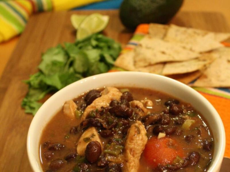Chicken & Black Bean Soup