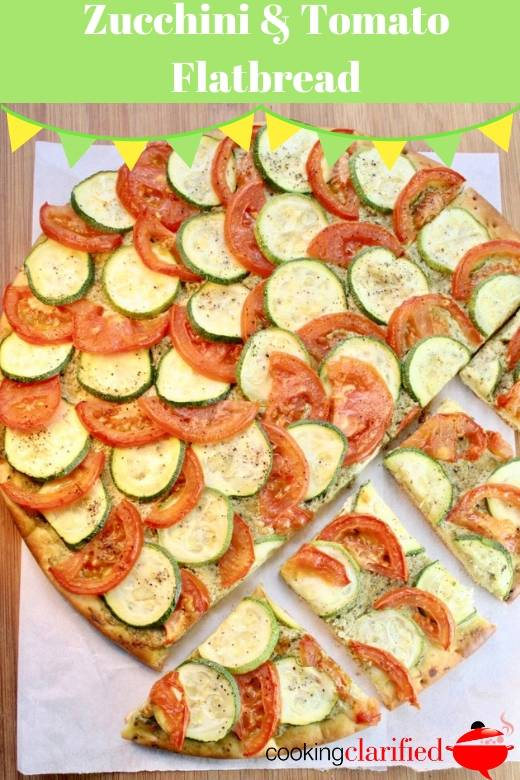 Learn how to cook zucchini plus everything you need to know to choose and store it, plus a fabulously simple recipe for Zucchini & Tomato Flatbread.